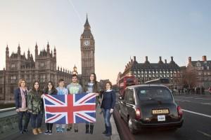 Foto de la delegación Gran Bretaña